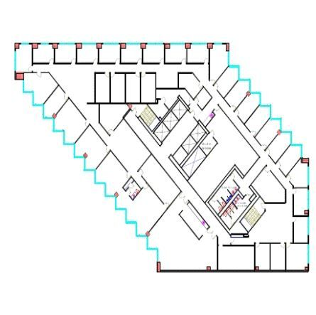 dallas office building floor plan