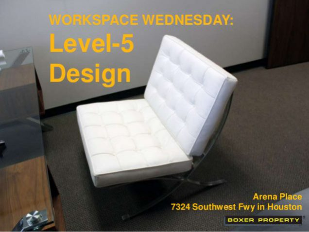 Level 5 Design Houston Office Space