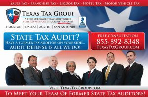 texas tax group ad