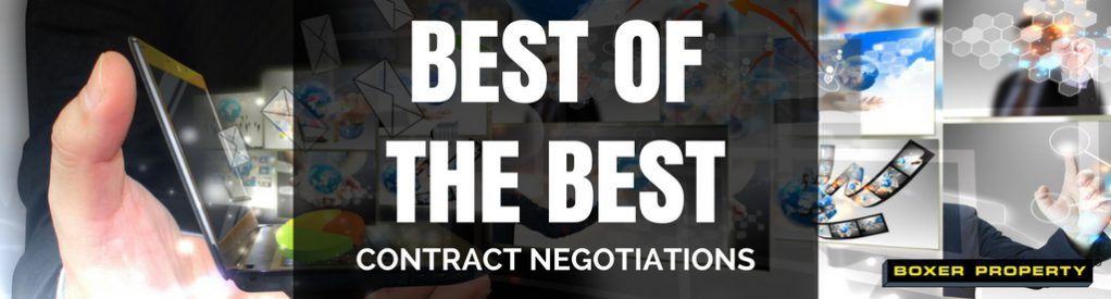 Best of the BEST: Contract Negotiations [Case Studies]