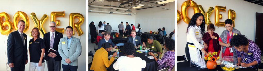 Welcome Tenant Lunch Event at 2000 Crawford St