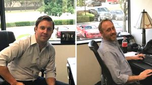 David Kolinofsky and Eric Ward of Actus Logistics