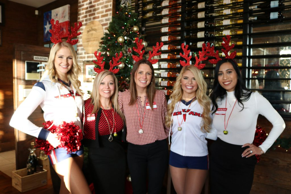 Broker Holiday Happy Hour - Cheerleaders
