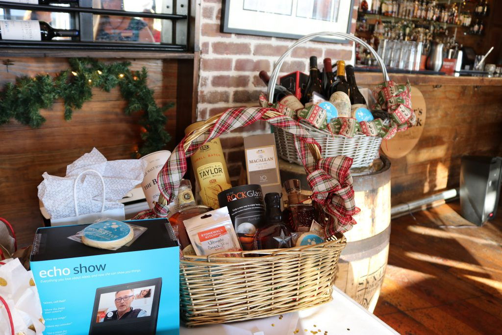 Broker Holiday Happy Hour - gift basket