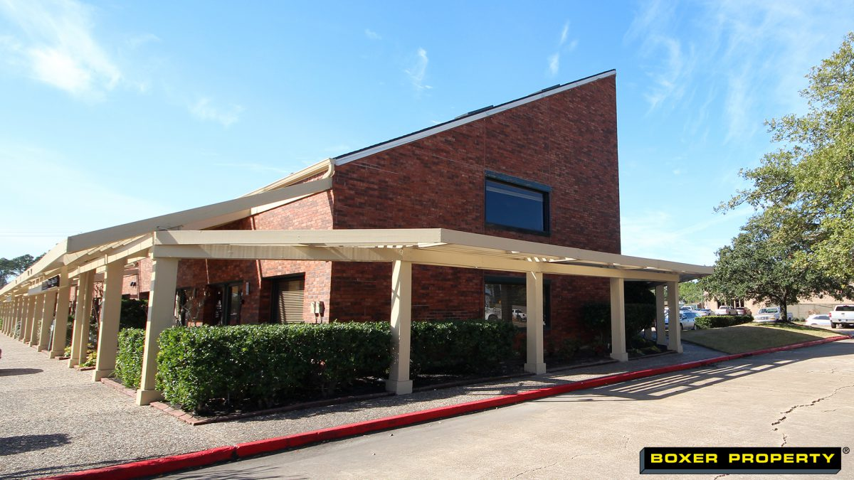 Office Building Exterior at 17300 El Camino Real in Clear Lake, TX