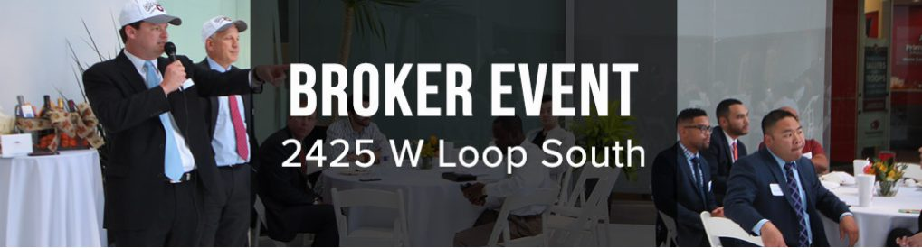 Boxer Hosts Brokers at 2425 West Loop South, in the Houston Galleria