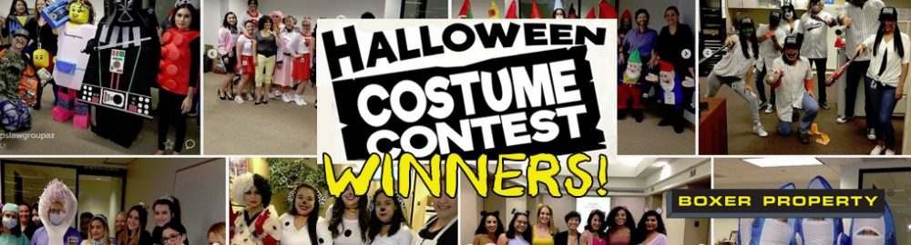 Boxerween Costume Contest Winners!