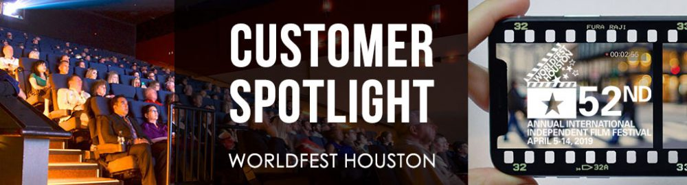 Tenant Spotlight: Lights, Camera, Worldfest!
