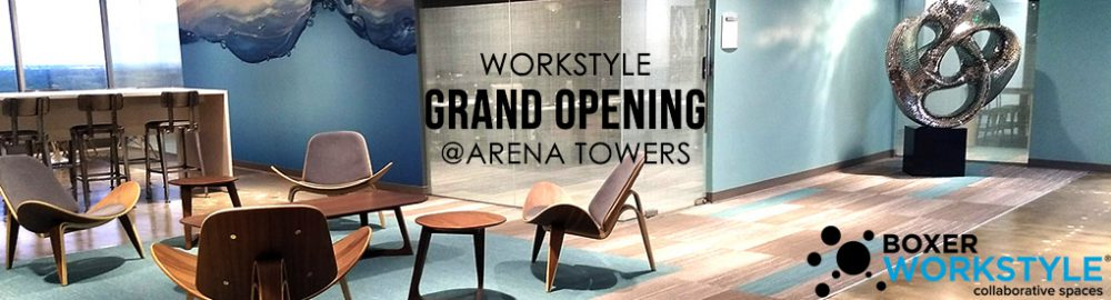 Arena Towers Expands Workstyle Collaborative Space