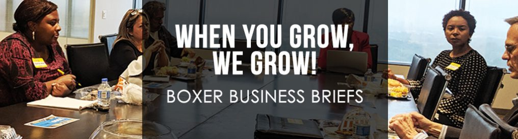 When You Grow, We Grow! – Boxer Business Briefs
