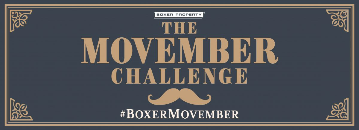 CONTEST: #BoxerMovember for Men's Health & Cancer Awareness