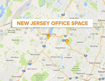 new jersey office space map