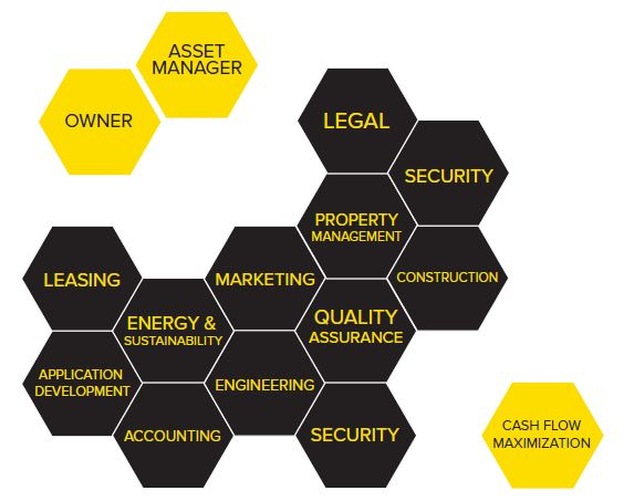asset management and services diagram