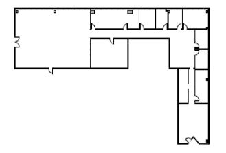 austin commercial building floor plan