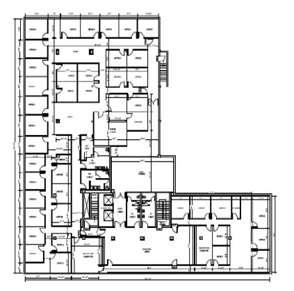 fort worth commercial building floor plan
