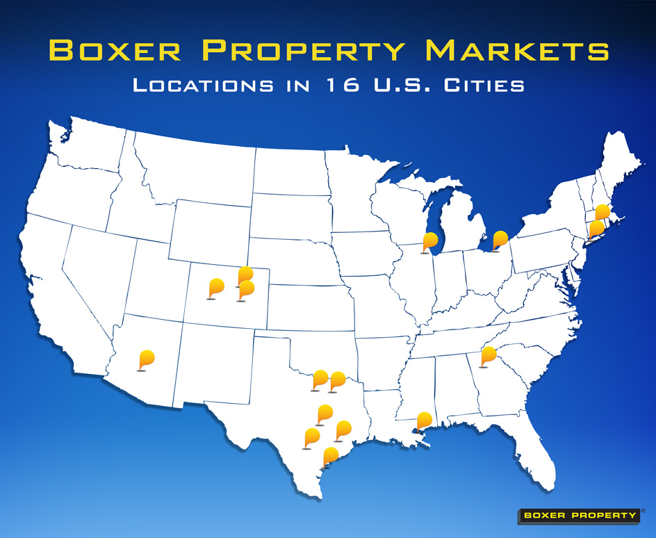 Boxer Property Locations across the US